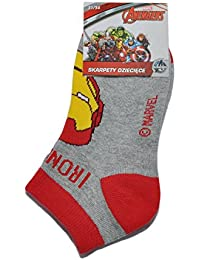 100% Official Licensed Marvel Avengers Socks for Boys Kids | Ironman Captain America Hulk Thor