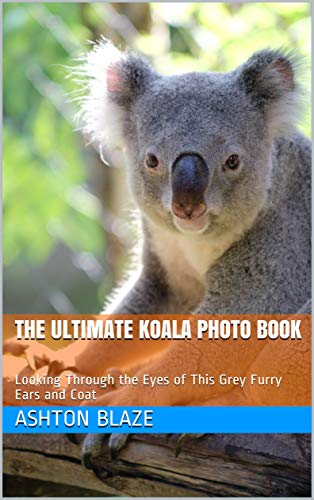 The Ultimate Koala Photo Book: Looking Through the Eyes of This Grey Furry Ears and Coat (English Edition)