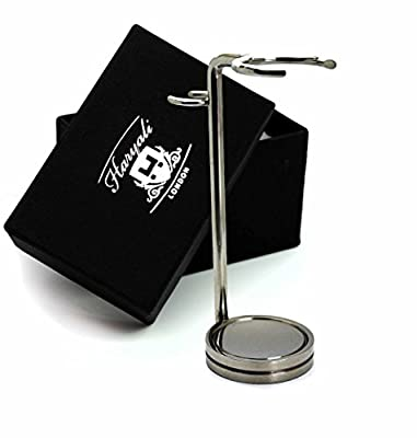 Stainless Steel Made Shaving Razor & Brush Stand For Men's.perfect For Everyday Use.