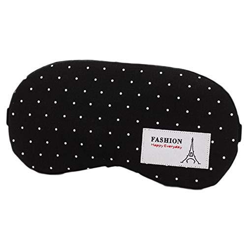 Rinalay Leichte Schlafmaske Komfortable Und Weiche Augenmaske Mit Verstellbarem Gurt Schlafhilfe Maske Mode Living Mit Jedem Nickerchen Position Eisbeutel (Color : Stil 2, Size : One Size)