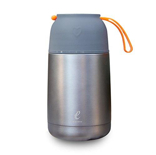 eSeasons Vakuum Isolierter Edelstahl Thermobehälter Warmes Essen im Büro,...