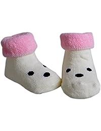 Jiajia bebé recién nacido Cute algodón tobillo Calcetines Senderismo para 0–12meses