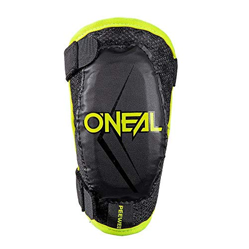 O'Neal Peewee Ellenbogen Protektor 4-9 Jahre Kinder Schoner Neon Gelb Motocross MX Offroad, 0251-50, Größe XS/S