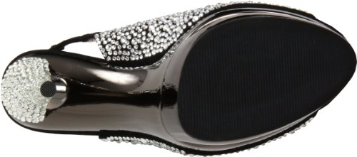 Pleaser Usa Shoes - Fascinate-654Sl Schwarz