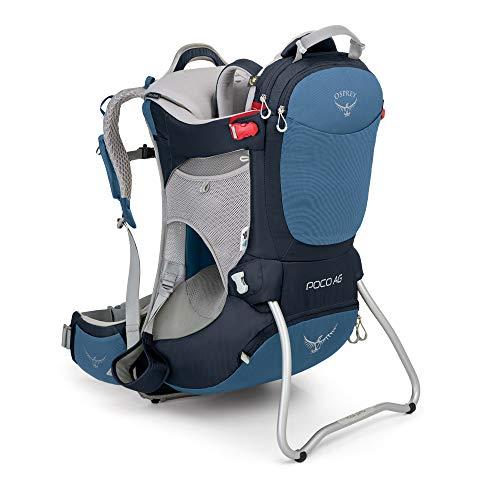 Osprey Poco AG Kindertragerucksack zum Wandern, unisex - Seaside Blue (O/S)