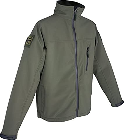 Web-Tex Tactical Soft Shell Jacket Green