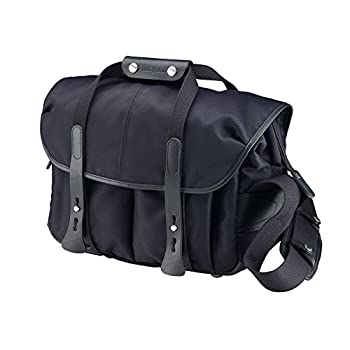 Billingham 307 Black FibreNyte Camera Bag with Black Leather Trim