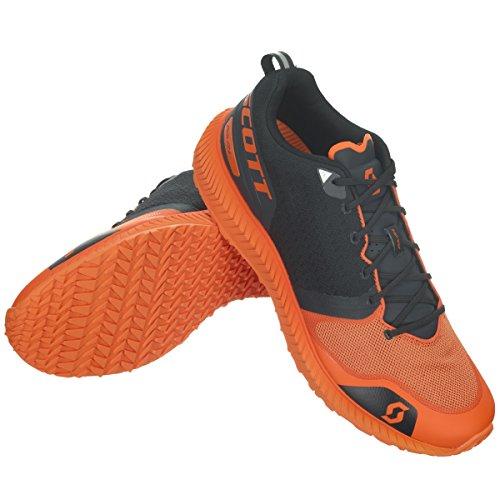 Scott hommes PALANI chaussures Course Noir 7 Orange/Noir