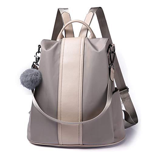 Bolsos mochila mujer Anti-robo Bolsos escolares Impermeable