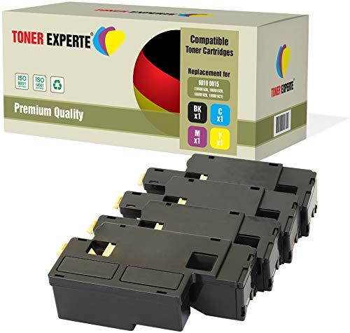 Kit 4 TONER EXPERTE 106R01630 106R01627 106R01628 106R01629 Toner compatibili per Xerox Phaser 6000, 6010, 6010V, 6010V N, 6010N, WorkCentre 6015, 6015V, 6015V B, 6015V N, 6015V NI, 6015MFP