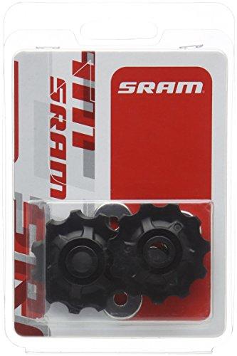 Sram MTB - Coppia di pulegge per deragliatore posteriore, nero (nero), N/A