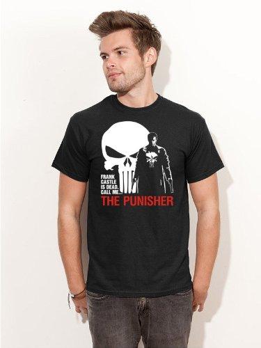 T-Shirt Marvel´s The Punisher Frank Castle Kultfilm Shirt schwarz E163 Gr. M