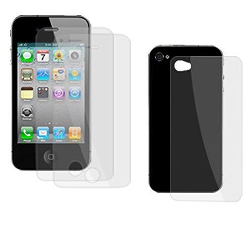 3 PC Anti Dust LCD Screen Protector voor de iPhone 4 4G 4g Lcd Screen Protector