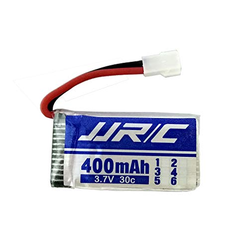 Prevently Toy Batería de Repuesto para Lipo JJRC H31 RC Quadcopter Drone DE 3,7 V 400 mAh, Azul
