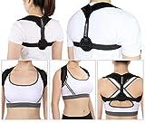 Orthopädische Haltungskorrektur, Unterstützung und Trainer-Bandage für Frauen und Männer, Widerstandsband zur Verbesserung der Schmerzen im oberen Rücken, verstellbare Haltung, zur Fixierung von schlechter Körperhaltung, Stoppt das Schlauchen und verbessert die Wirbelsäulengesundheit