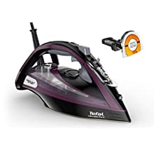 Tefal FV9830 Ultimate Pure Steam Iron, Purple/Black