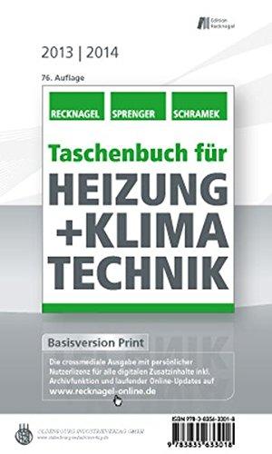 Taschenbuch für Heizung + Klimatechnik 13/14: Basisversion Print