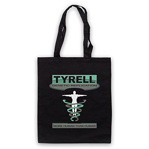 Inspiriert durch Blade Runner Tyrell Corp Inoffiziell Umhangetaschen Schwarz