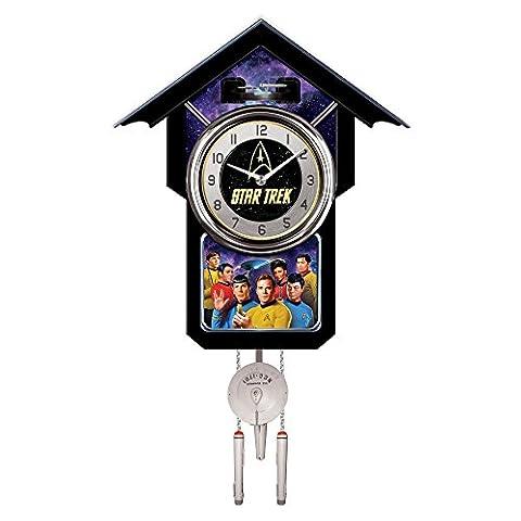 The Bradford Exchange - Star Trek Tribute Cuckoo Clock with