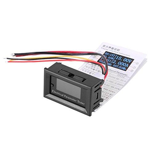 7 in 1 multifunktions OLED Elektrische Parameter Meter Spannung Amp Strom Leistung Energie Tester (100 V / 10 A 白色)
