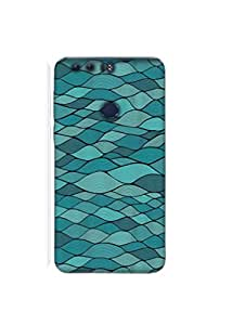 Mikzy Premium Quality Printed Designer Back Cover Case for Huawei Honor 8 (Multicolour)