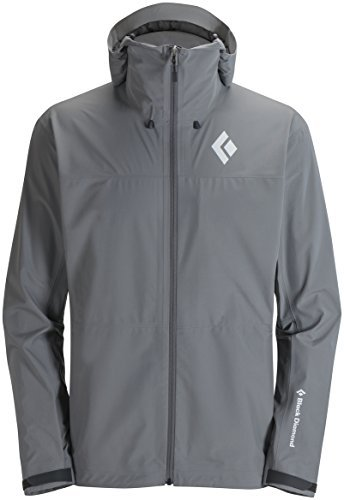 Black Diamond Veste de pluie M Liquid Point Shell Update Nickel