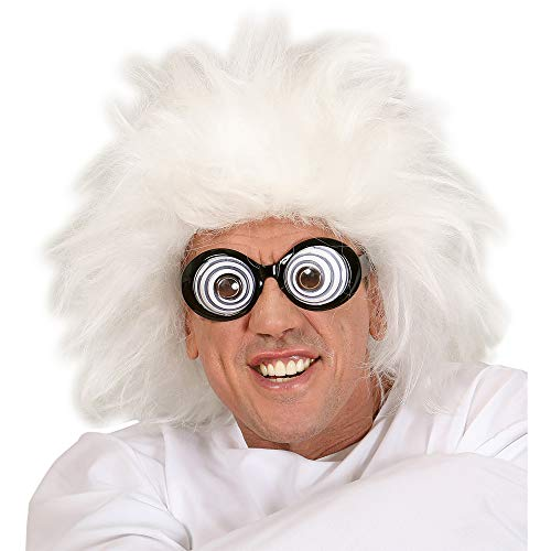 WIDMANN Perücke - Albert Einstein Fancy Dress Kostüm