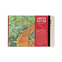 ‏‪Notebooks - Creative City Impression Hand-painted Notebook Fashion Printing Graffiti Sketchbook Great Business Gift Notepad Stationery (Great Wall)‬‏