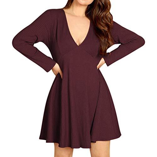LEXUPE Damen Kontrastfarbe Pulli Pullover Rollkragen Sweatshirt Kapuzenpulli Top Hoodies (Sexy Bett Krankenschwester Kostüm)