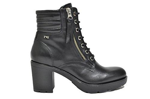 Nero Giardini Anfibi tronchetti nero 6522 scarpe donna A616522D 38