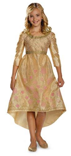 Disguise Disney Maleficent Movie Aurora Coronation Gown Girls Classic Costume, Medium/7-8 (Halloween-kostüm Maleficent Aurora)