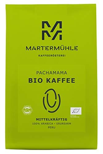 Martermühle | Bio Kaffee PachaMama (1 x 500g) | Ganze Bohnen | Premiu...