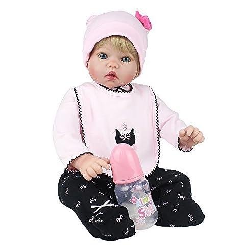 Reborn Babies Realistic Reborn Dolls Baby 20 Inch Soft Vinyl Silicone Realistic Babies Toys Children Gift