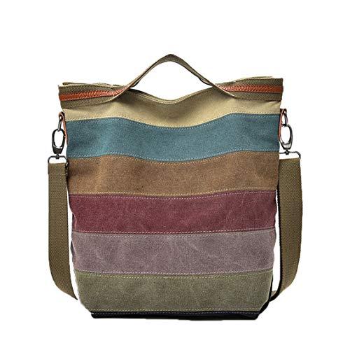 Multi-Color Umhängetasche Tote Handtasche ()