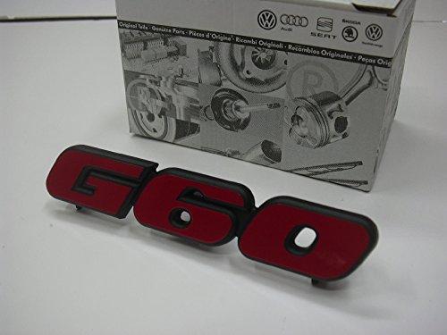 Gebraucht, G60 Emblem vorne Grill rot schwarz Schriftzug Logo gebraucht kaufen  Wird an jeden Ort in Deutschland