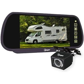 """Beeper CC1-N Camera de Recul Rétroviseur 7"""" Cam Noire"""