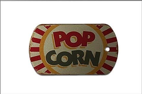 Dog Tag Nostalgic Fun Popcorn
