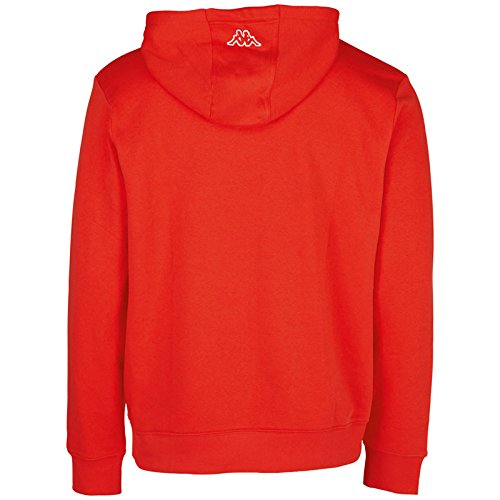 Kappa Herren Wanja Hooded Sweatshirt Scarlet