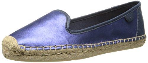 Sperry Top-Sider Women's Coco Metallic Espadrille, Blue, 6 M US Sperry Top-sider Metallic-heels
