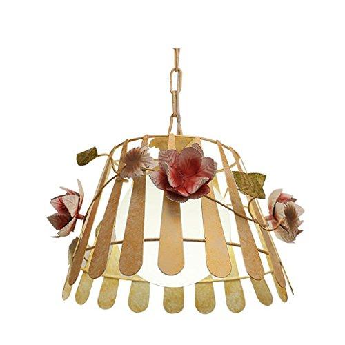 *lampada a sospensione moderna lampadario - lampadario a due luci con scala a chiocciola/lampadario singolo in vetro in ferro battuto con testa bombata (32 cm * 22 cm) lampadario domestico