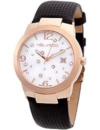 Helveco H02141_YZ - Reloj , correa de goma color negro