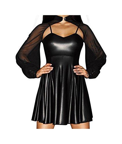 Wetlook Kleid von Noir Handmade
