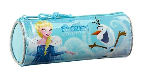 Safta Estuche Redondo Frozen Oficial Escolar 200x70mm