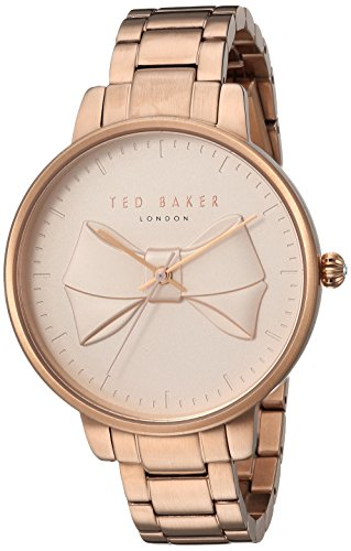 Ted Baker Women's 'BROOK' Quartz and Stainless-Steel-Plated Casual Watch, Color Rose Gold-Toned (Model: TE15197002)