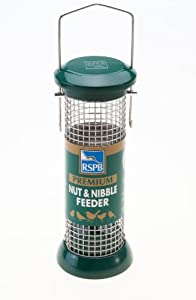 RSPB Premium Nut Feeder Stainless Steel 9-inch by RSPB Sales Ltd