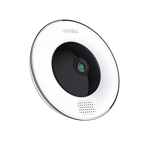 Cámara vigilancia hogar Lensoul 1536P HD IP WiFi