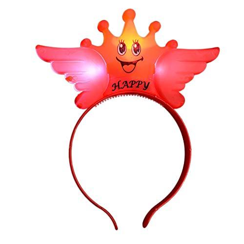 Kinder Mädchen party Haarband Blumen Kopfschmuck Haarband, Einhorn Kopfbedeckungen Stirnbänder Baby Mädchen-Stirnbänder Bowknot Haarschmuck für Mädchen Kinder Stoff Haarband Geburtstagsfeier Karneval (Herrschaft Kostüm Männer)
