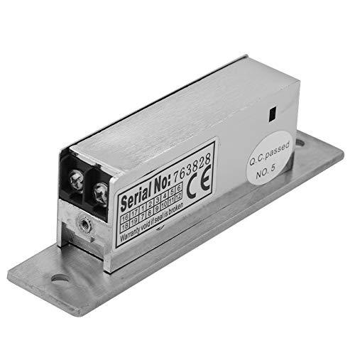 Serratura elettrica a 12 vie regolabile a tenuta stretta serratura doppia modalità di sblocco blocco controllo accessi blocco catodo intelligente sicurezza blocco intelligente no fail