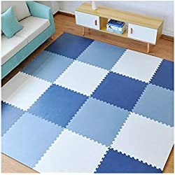 ALGFree Foam Kids Play Mat Giardino dei Bambini Palestra Yoga Ginnastica Incastro Morbido Piastrelle for Pavimenti Interno ALGFree (Color : D, Size : 60x60x1.4cm-4pcs)