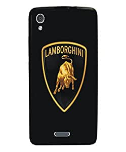 Techno Gadgets back Cover for Panasonic Eluga A2